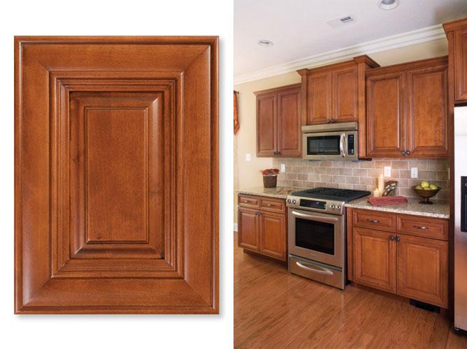Madison Cabernet. Cabinets